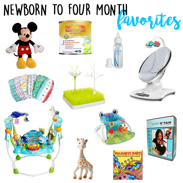 Newborn To Four Month Must Haves Malmy Madness