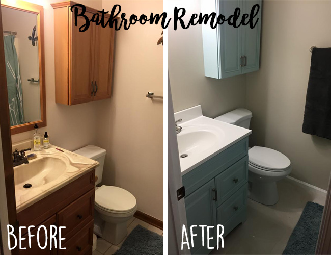 Diy bathroom updating the 80 s to 10 s malmy madness for 80s bathroom ideas